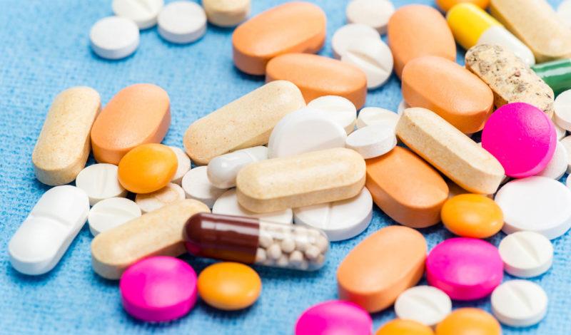 Darmprobleme nach einer Behandlung mit Antibiotika Foto Medikamente