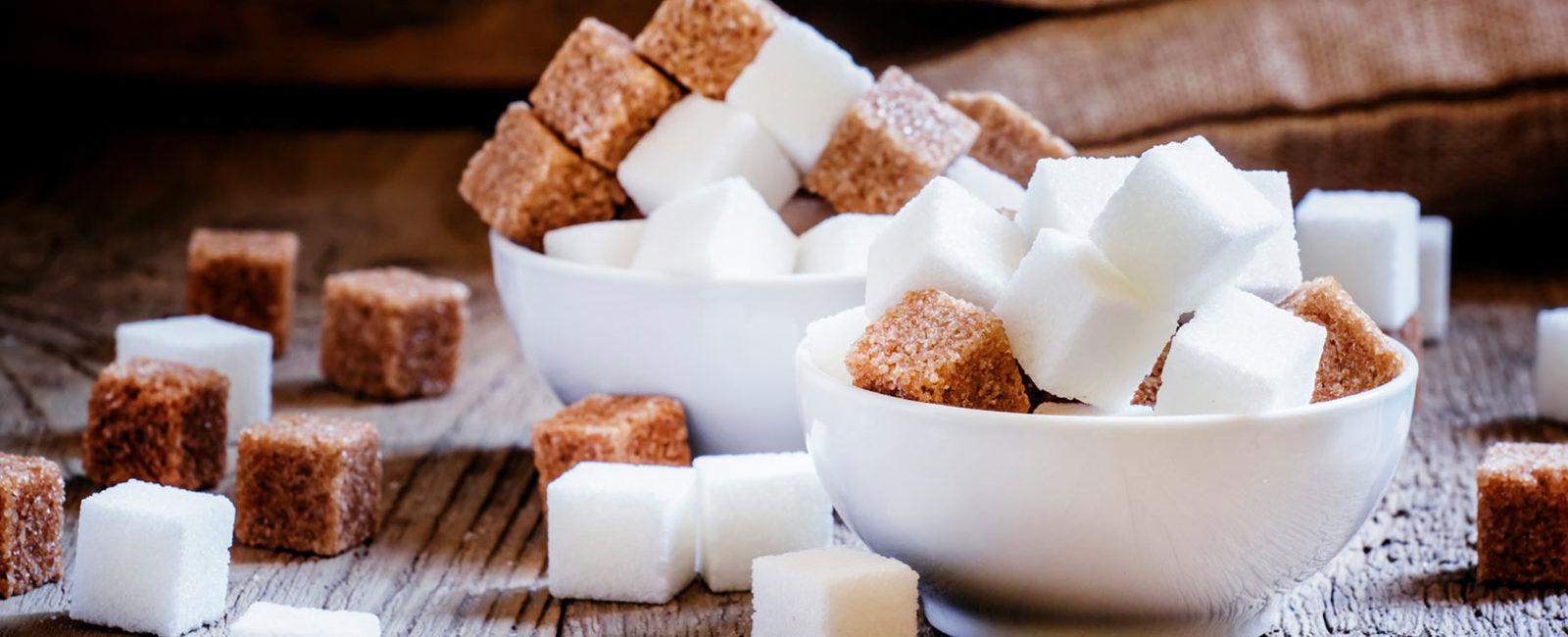 Zucker ist dein Feind - Zucker in Schüsseln