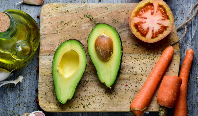 Veganismus: Vegan essen und leben Assoziationsbild