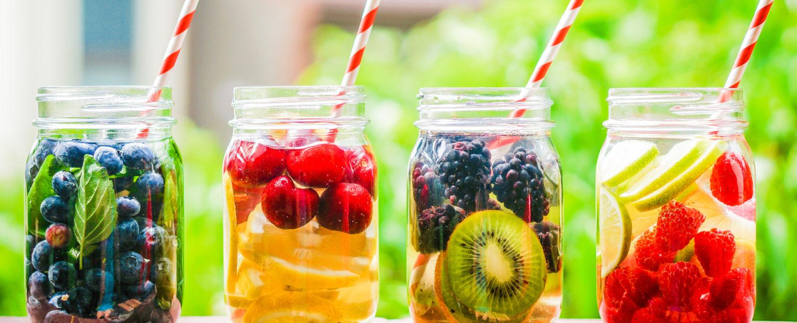 Detox-Wasser-Cocktail Anleitung