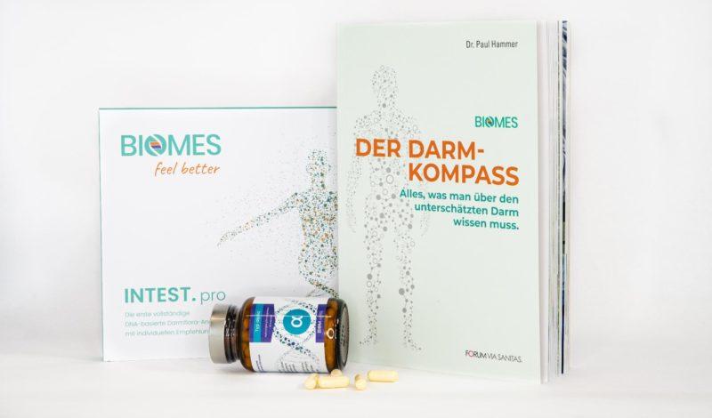 Der Darm-kompass Biomes Buch