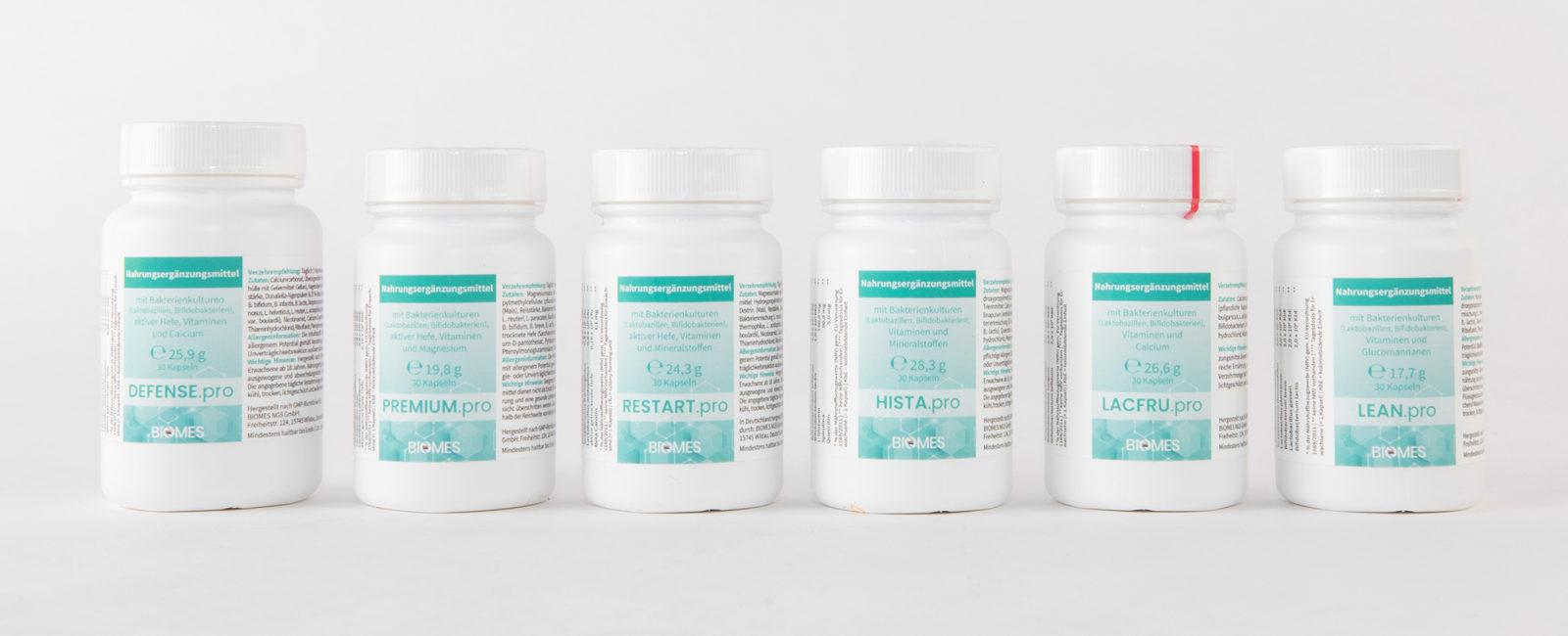 Latas de alimentos probióticos todo el surtido y oferta Alternativa 2