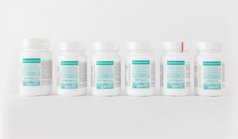 Probiotische Nahrungsmittel Dosen gesamtes Sortiment und Angebot