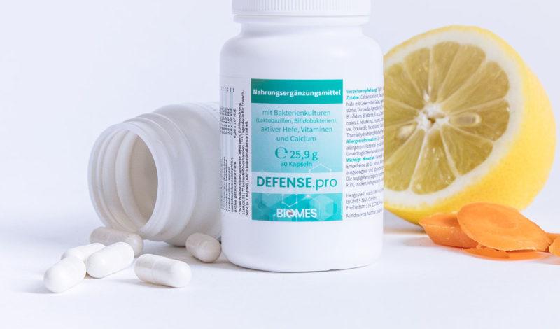 probiotische Nahrungsergänzungsmittel Defense.pro Moodfoto