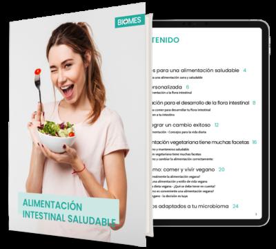 Nutrición saludable para el intestino